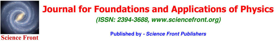Journal for Foundations and Applications of Physics